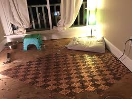 diy penny floor by tonya stecyk