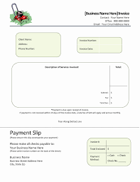 Cleaning Services Invoice Sample Blank Lawn Care Invoice Image Template Free House Cleaning Service 19