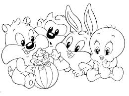 Looney Toons Coloring Pages Coloring Pages Tunes Characters