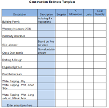 contractor quote template the top 6 free construction estimate templates capterra blog