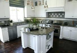 backsplash with white cabinets and black countertops white kitchen with dark cabinets a contemporary kitchen with
