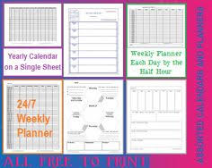 Free Printable Blank Attendance Forms And Student Sign-In Sheets For ...