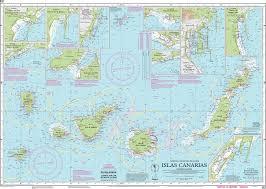 Imray Nautical Chart Imray E2 Islas Canarias