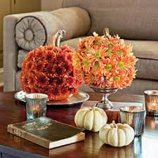 Decorated Styrofoam Balls Fall Decor Using Styrofoam Balls 83