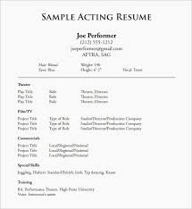 Resume Topics Awesome Acting Resume Example Inspirational Resume Topics 60d Wallpapers 60