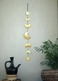 metal moon wall art metal moon wall decor inspirational moon phases wall decor moon wall hanging