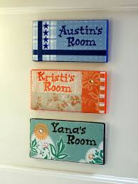 diy subway tile name plates