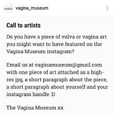 vagina art on Instagram