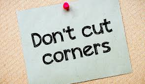 Image result for cut corners