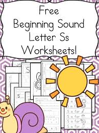Phonics worksheets by level, preschool reading worksheets, kindergarten reading worksheets, 1st grade reading worksheets, 2nd grade reading you will find our phonics worksheets for teaching preschoolers and kindergartners. Beginning Sounds Letter S Worksheets Free And Fun