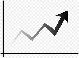 Stock Chart Art Black Triangle Clipart Chart Finance Black Transparent