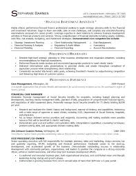 Sample Financial Associate Resume Sample Financial Associate Resume ...