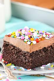 Easy Chocolate Cake Recipe Moist Fluffy Chocolate Cake