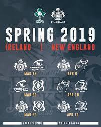 irish rugby the new england free jacks launch transatlantic competition
