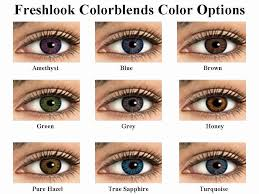 Acuvue Contacts Color Chart 21 Abiding Colorblends Contacts Color Chart