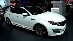 kia optima 2014 white. Brilliant Kia 2014 KIA Optima SXL  Exterior And Interior Walkaround 2013 New York  Auto Show YouTube Intended Kia White A