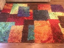 used red green black purple area rug 5x7 for in tampa letgo black area rugs