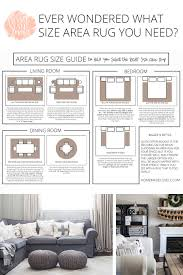 Rug Placement Guide Feature Area Rug Size With Kids Area