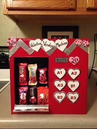 Vending Machine Valentine Box Unique Valentine Vending Machine Valentine's Fun Pinterest Box