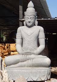 garden buddha statues. Large Garden Buddha Holding Flower 83\ Statues