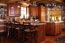 rustic french country kitchens. Fine Kitchens Rustic French Country Kitchen L Shaped Brown  Finish  And Rustic French Country Kitchens T