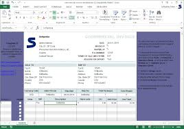 Create A Commercial Invoice Download Commercial Invoice Template 1 20