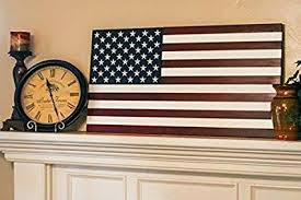 wonderful wood flag wall art minimalist amazon com x large hand crafted made in u s a quot on american flag wall art wood and metal with american flag wall art wood and metal flag wood wall art best of