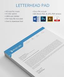 Official Pad Design Free Download 021 Microsoft Word Letterhead Template Ideas Remarkable