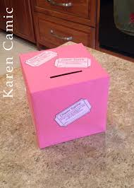 raffle ticket holder crafts i can do raffle diaper raffle box for pookies shower <3