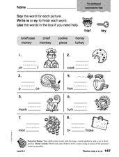 These printable worksheets are perfect for beginners who are just starting to learn the sounds each letter makes. Ie Sound Lesson Plans Worksheets Reviewed By Teachers