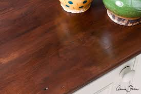 Wood Looking Paint Annie Sloan O Paint Colour Faking A Rich Mahogany Look With