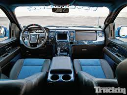 ford raptor interior blue.  Raptor 2013fordf150svtraptorinterior Ford Svt Raptor In Interior Blue R