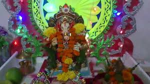 ganesh festival home decoration mumbai youtube