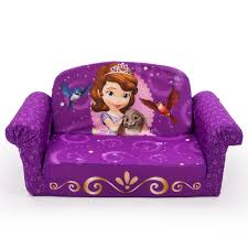 Sofia The First Bedroom Disney Junior Sofia The First Marshmallow 2 In 1 Flip Open Sofa