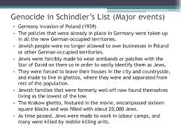 schindler s list analyzing the underlying sociological elements  cultural genocide 11 genocide in schindler s list