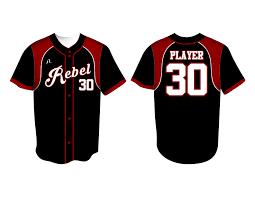 Rebel Sport Clothing Size Chart Custom Baseball Uniforms Defend The Perimeter Team Rebel