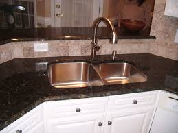 Replacing A Kitchen Sink Faucet Kitchen How To Install A Kitchen Sink In Double Bowl Design
