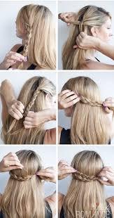 12 Cute Hairstyle Ideas For Medium Length Hair Diy Medium Hair