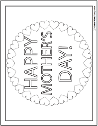 Small Picture 45 Mothers Day Coloring Pages Print And Customize For Mom