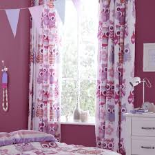 Owl Bedroom Decorating Owl Window Curtains