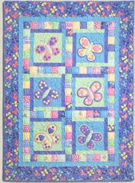 Butterfly Kisses - by Kids Quilts - Quilt PatternSECONDARY_SECTION ... & ... 104cm x 140cm (41