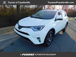 2017 Used Toyota RAV4 XLE AWD at Honda of Fayetteville Serving ...