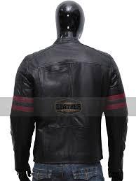 new biker moto slim fit outwear 100 real lambskin black leather jacket for men