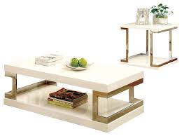 Reed 2 Piece Contemporary Table Set Contemporary Coffee Table Sets