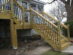 Deck Stair Railing IdeasDeck Railing Ideas For Stairs YouTube