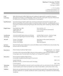 Download Flight Instructor Resume