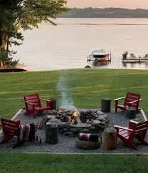 stone fire pit ideas. Campfire Backyard Fire Pit Stone Ideas E