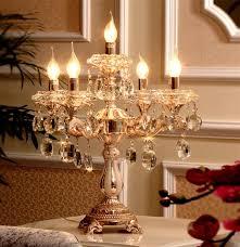 crystal chandelier candle holder line modern gold led candle holders reading light