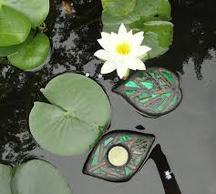 popular items for glass garden art on leaves floating sculpture water gardens outdoor rooms home