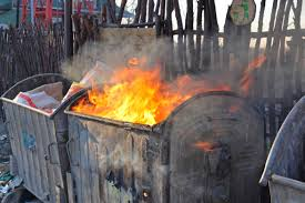 Image result for images of dumpster fires